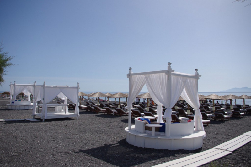 Hotel beach boutique hotel recenzie kamari santorini for Beach boutique hotel