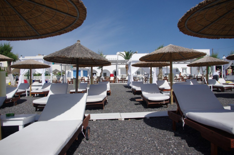 Hotel beach boutique hotel recenze kamari santorini for Beach boutique hotel